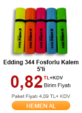 Edding Fosforlu Kalem