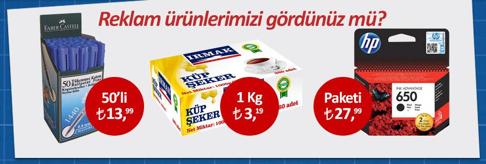Reklam ürünlerimizde kaçırılmayacak fiyatlar Avansas.com'da!