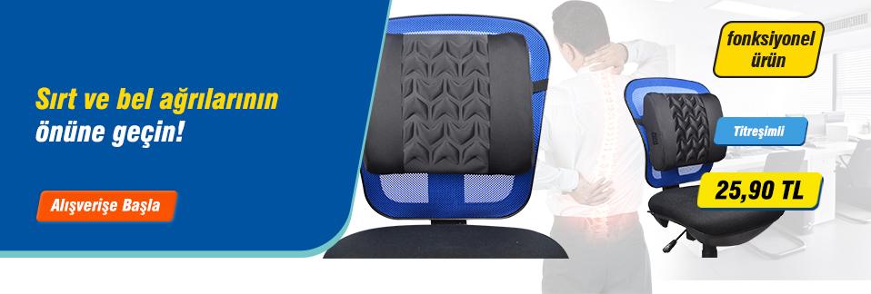 Avansas Comfort ortopedik bel desteği ile bel ve sırt sağlığınızı koruyun!