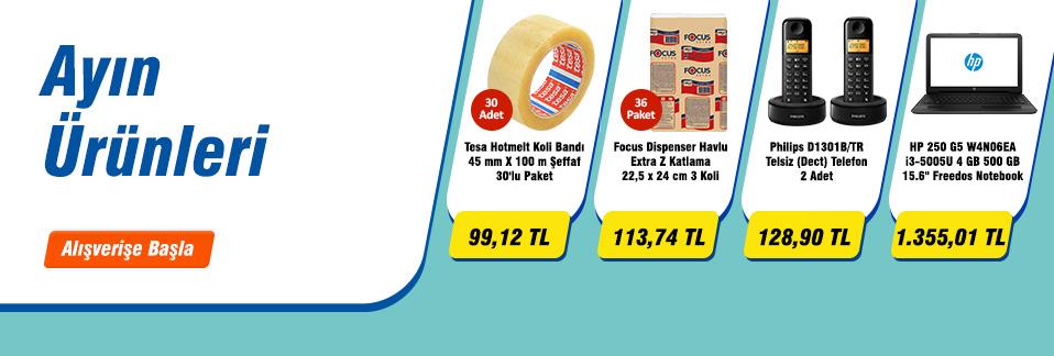 Stoklarla sınırlı ayın ürünleri kaçırılmayacak fiyatlarla!