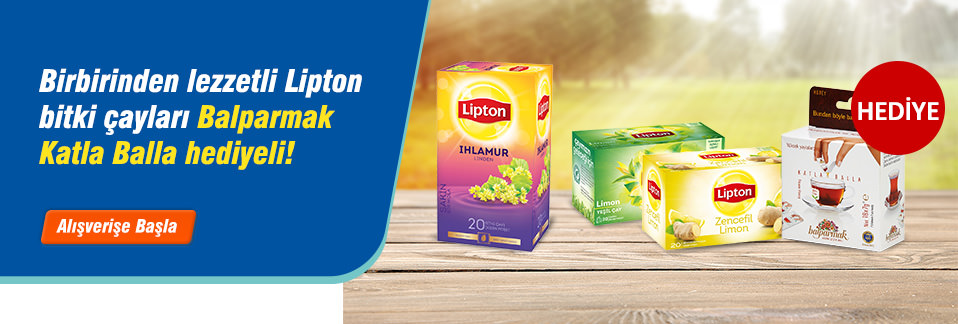İşyerinde sağlığına dikkat edenlere özel hazırlanan Lipton Bitki Çayı paketleri ile formda kalın!
