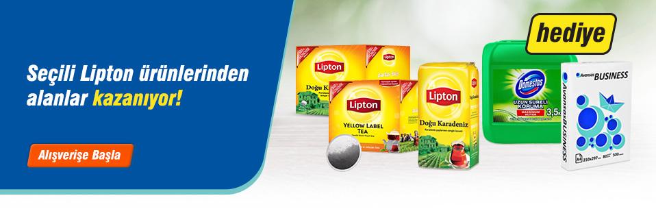 Çay tutkunlarının vazgeçilmezi Lipton'un size özel hazırladığı avantajlı paketleri kaçırmayın!