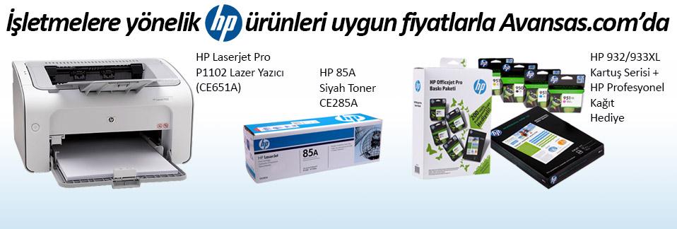 HP markalı ürünlerde özel fiyatlar Avansas.com'da!