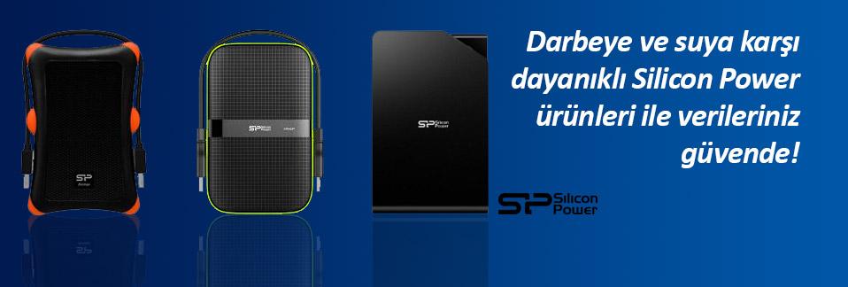 Silicon Power markalı harici disk ve SSD diskler uygun fiyatlarla Avansas.com'da!